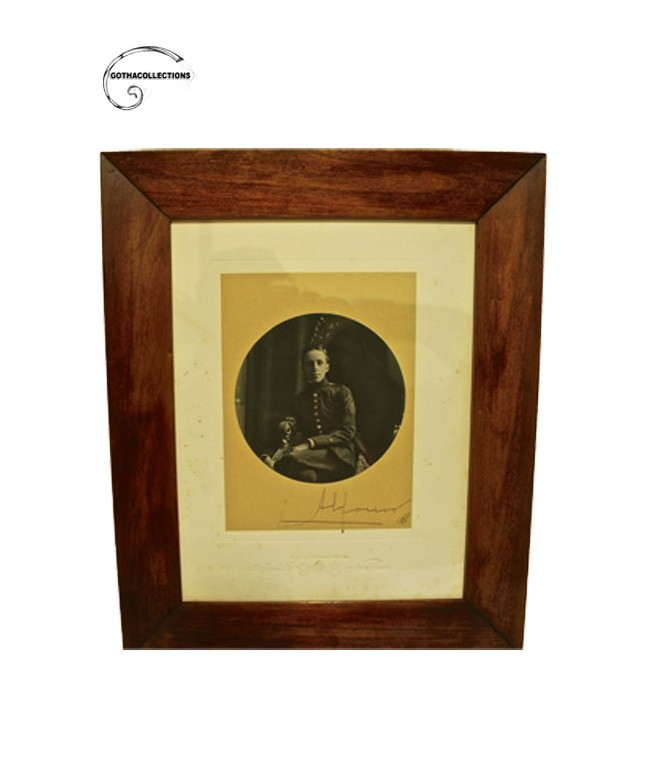 Signed picture. Alfonso XIII King.