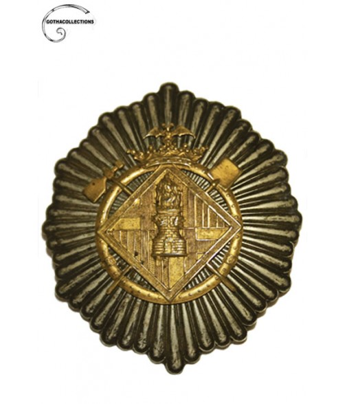 Barcelona City  Firefighters Badge, late XIX century.