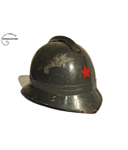 Firefighter helmet from the former Yugoslavia.