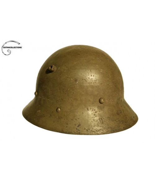 Czech helmet M-30. Spanish Civil War.