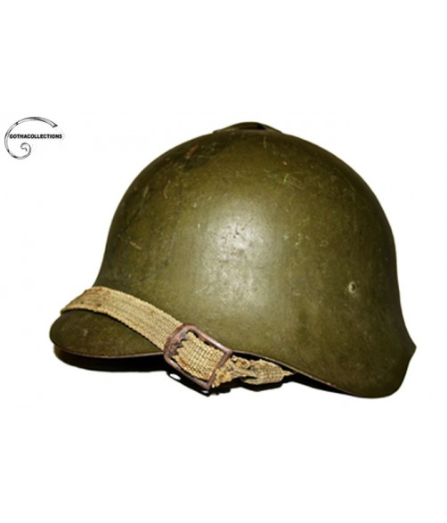 Soviet SSH36 Helmet, Spanish Civil War.