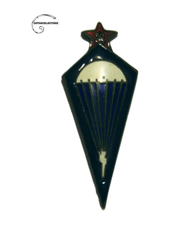 Soviet Parachuting Jumps Badge.